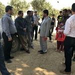 پیگیری مشکلات منطقه محروم «بیدانجیر» با حضور مسئولان ارشد استانی