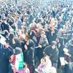 تصاویر استقبال مردم سوق از نطق انتخاباتی هاشمی پور