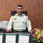 سرگرد عنبریان رئیس کلانتری ۱۱  علی آباد فرماندهی انتظامی شهرستان گچساران  شد.