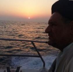 تصویر جالبی که حجت الاسلام موحد در روز ملی خلیج فارس منتشر کرد