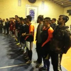 مراسم اختتامیه مسابقات فوتسال جام دهه فجردرسرفاریاب برگزار شد