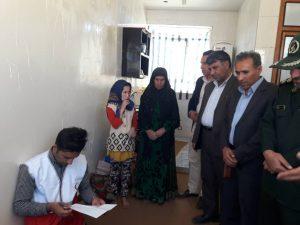 بازدیدمسئولان شهرستان چرام ازشهرک گره ای/خدمات رایگان کاروان سلامت ومعیشت جمعیت هلال احمرچرام دراین منطقه محروم+تصاویر