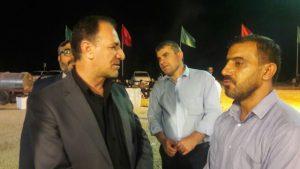 بازدید فرماندار بهبهان از موکب شهدای کهگیلویه