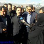 وزیر راه و شهرسازی وارد یاسوج شد+فیلم
