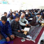 گزارش تصویری از برگزاری دعای پرفیض عرفه درمسجدالرضاسرفاریاب
