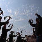 گزارش تصویری مراسم عزاداری تاسوعای حسینی در شهر دهدشت