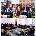 برگزاری جلسه شورای فرهنگ عمومی شهرستان چرام دردفترامام جمعه+تصاویر