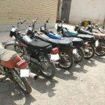 دستگیری سارق حرفه ای موتور سیکلت در گچساران