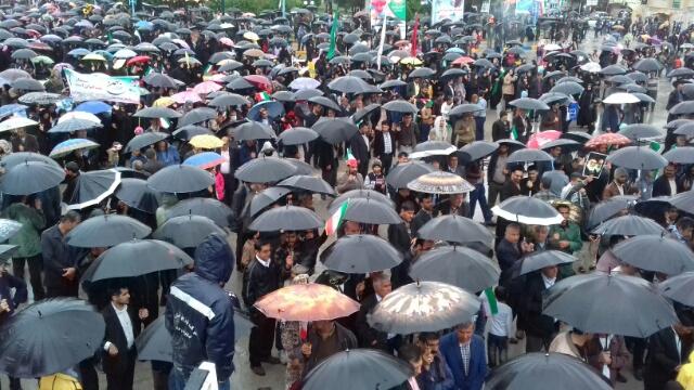 خروش بلاد شاپور در جشن چهل سالگی انقلاب/+گزارش تصویری