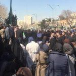 تجمع کارکنان وزارت جهاد کشاورزی مقابل مجلس+بازتاب بین المللی