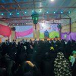برگزاری جشن ولادت حضرت ابوالفضل (ع )در فاطمیه مارگون