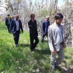 بازدیدبخشدارسرفاریاب ومسئول امورعشایرکهگیلویه از جادههای عشایری و منابع آبی سادات وجوخانه