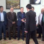 رئیس اداره راه و شهرسازی شهرستان چرام منصوب شد/تاکیدفرماندار چرام ، بر رفع مشکلات راه های این شهرستان  + تصاویر