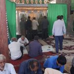 برگزاری دعای ندبه درجوارمطهرامام زاده بی بی رشیده (س)به مناسبت دهه کرامت+تصاویر