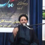 مقتل خوانی امام جمعه چرام درمراسم عاشورا
