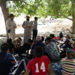 برگزاری اردوی جهادی با هدف پرکردن اوقات فراغت برای دانش آموزان چرامی