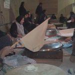 پخت یکصد هزار قرص نان برای زائران اربعین حسینی توسط بانوان شهرستان کهگیلویه