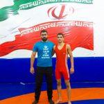 دعوت کشتی گیر نونهال دهدشتی برای حضور در مسابقات بین المللی جام کودک