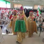 جشن تکلیف ، جشن پرستش و نیایش ۳۱۰ دانش آموز دختر چرامی+تصاویر