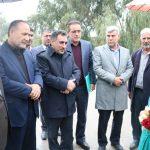کریدور خوزستان به کهگیلویه بزرگ با حضور معاون وزیر راه و شهرسازی کلنگ زنی شد